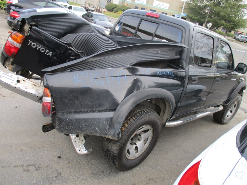2001 toyota tacoma prerunner double cab black 2 7l at 2wd - 2001 toyota tacoma interior parts ...