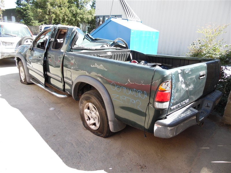 toyota cab access tundra 2000 sr5 2wd parts recycling received
