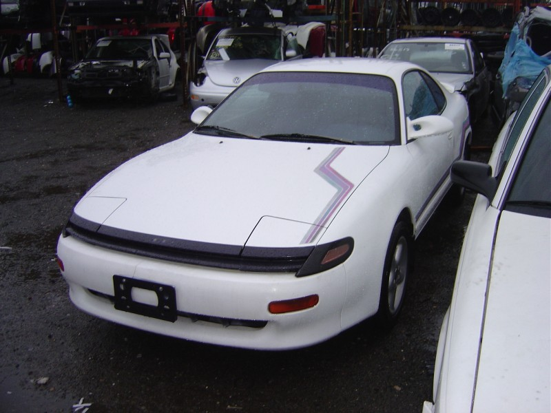 1990 TOYOTA CELICA GT MODEL 2 DOOR COUPE 2.2L AT FWD COLOR WHITE ...