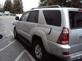 2005 TOYOTA 4RUNNER SR5 MODEL 4.0L V6 AT 4X4 COLOR SILVER Z14614