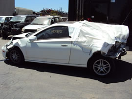 2000 TOYOTA CELICA GT MODEL 1.8L AT FWD COLOR WHITE Z14702