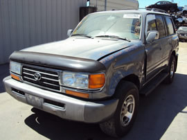 1995 TOYOTA LAND CRUISER 4.5L 6 CYL AT FULL TIME AWD COLOR GRAY Z13461