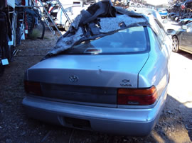 1993 TOYOTA COROLLA 4 DOOR SEDAN STD MODEL 1.6L AT 3SPEED FWD COLOR SILVER Z14751