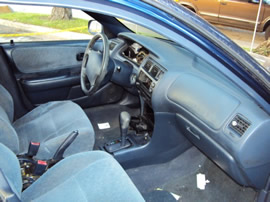 1997 TOYOTA COROLLA, 4 CYL , AUTOMATIC, COLOR: BLUE, STK# Z09058