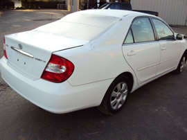 2004 TOYOTA CAMRY 2.2 4CYL, AUTOMATIC TRANSMISSION, COLOR-WHITE STK # Z10077