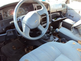 1993 TOYOTA TRUCK 22RE, 4CYL 2.4L, 5 SPEED TRANSMISSION, COLOR-BLUE