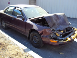 1993 TOYOTA CAMRY, 4CYL. AUTOMATIC TRANSMISSION, COLOR MAROON, STK# Z10100