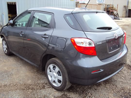 2009 TOYOTA MATRIX, 4CYL ENGINE, AUTOMATIC TRANSMISSION, STK # Z11163