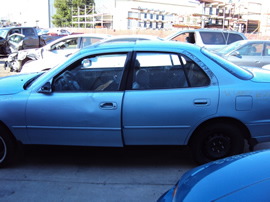1992 TOYOTA CAMRY 4 DOOR SEDAN 3.0L AT COLOR BLUE STK Z12258