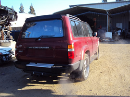 1994 TOYOTA LAND CRUISER SUV 4.6L AT 4X4 COLOR RED STK Z13388