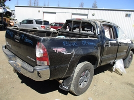 2009 TOYOTA TACOMA BLACK SR5 DOUBLE CAB 4.0L AT 4WD Z16442