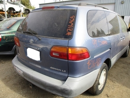 1999 TOYOTA SIENNA LE DENIM BLUE 3.0L AT 2WD Z16465