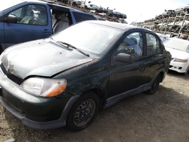 2002 TOYOTA ECHO GREEN 1.5L MT Z16469