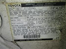 1995 TOYOTA 4RUNNER LIMTED, 3.0L AUTO 4WD, COLOR WHITE, STK Z15934