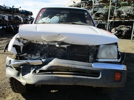 1999 TOYOTA TACOMA SR5 WHITE XTRA CAB 3.4L AT 4WD Z16490