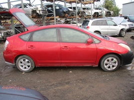 2009 TOYOTA PRIUS RED 1.5L AT Z16547