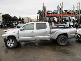 2008 TOYOTA TACOMA SR5 SILVER DOUBLE CAB 4.0L AT 4WD Z17563