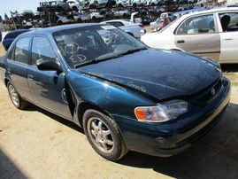 2000 TOYOTA COROLLA VE TEAL 1.8L AT Z16289