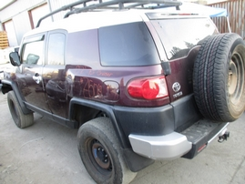 2007 TOYOTA FJ CRUISER MAROON 4.0L AT 4WD Z15069