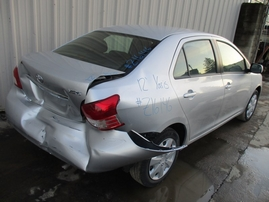 2012 TOYOTA YARIS SILVER 1.5L AT Z16146