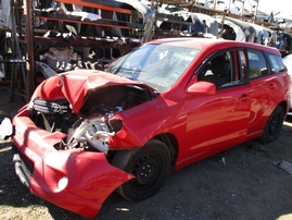 2006 TOYOTA MATRIX XR RED 1.8L AT Z16410