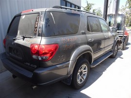 2005 TOYOTA SEQUOIA SR5 GRAY 4.7 AT4WD Z20117