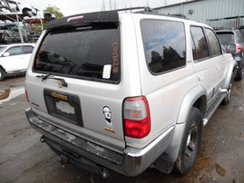 1997 TOYOTA 4RUNNER LIMITED SILVER 3.4L AT 4WD Z18412