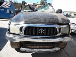 2002 TOYOTA TACOMA PRERUNNER SR5 BLACK DOUBLE CAB 3.4L AT 2WD Z17901