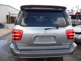 2002 TOYOTA SEQUOIA LIMITED SILVER 4.7L AT 4WD Z19499