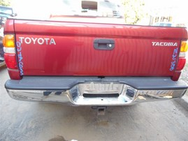 2003 TOYOTA TACOMA CREW CAB SR5 RED 3.4 AT 4WD TRD OFF ROAD PACKAGE Z21388