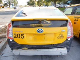 2012 TOYOTA PRIUS YELLOW 1.8L AT Z17917