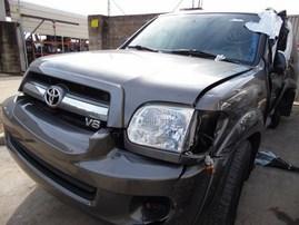 2006 TOYOTA SEQUOIA SR5 GRAY 4.7L AT 2WD Z19507