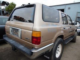 1999 TOYOTA 4RUNNER SR5 SILVER 3.4L AT 4WD Z17927