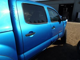 2007 TOYOTA TACOMA CREW CAB SR5 BLUE 4.0 AT 4WD TRD OFF ROAD PACKAGE
