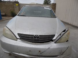 2002 TOYOTA CAMRY LE SILVER 2.4L AT Z17954
