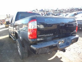 2006 TOYOTA TUNDRA SR5 BLACK DOUBLE CAB 4.7L AT 2WD Z17963