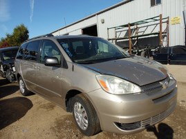 2004 TOYOTA SIENNA LE GOLD 3.3L AT Z17964