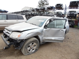 2005 TOYOTA 4RUNNER SR5 SILVER 4.0L AT 4WD Z17652