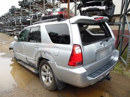 2007 TOYOTA 4RUNNER LIMITED SILVER 4.7L AT 4WD Z17978