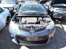 2014 TOYOTA COROLLA S PLUS SLATE BLUE 1.8 AT Z20968