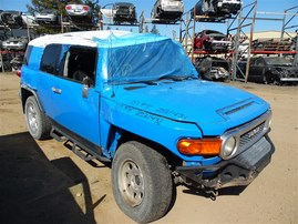 2007 TOYOTA FJ CRUISER BLUE 4.0 AT 4WD Z21431