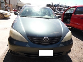 2002 TOYOTA CAMRY LE METALLIC GREEN 3.0L AT Z17669