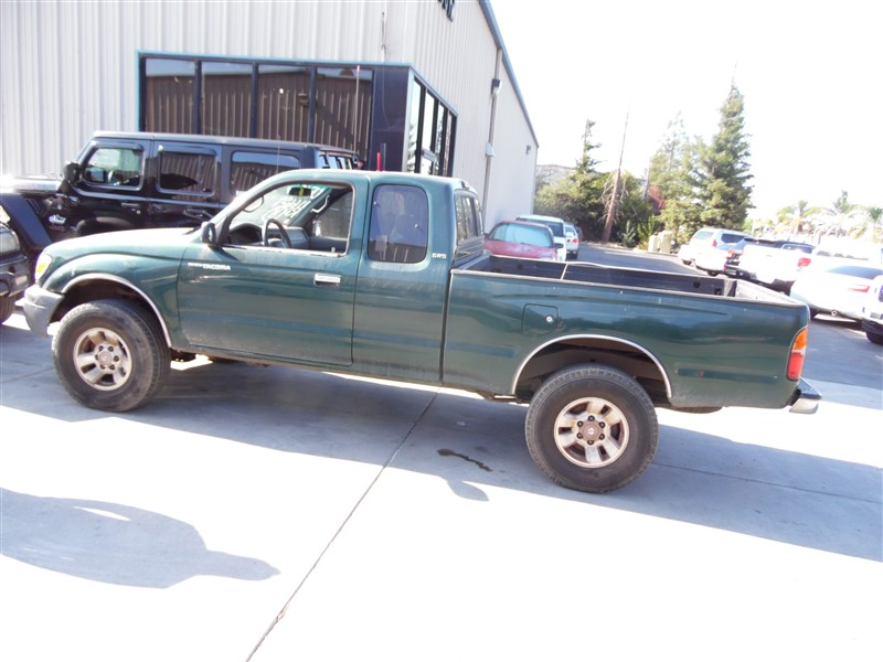 1999 TOYOTA TACOMA SR5 EXTRA CAB GREEN 2.7 AT 2WD PRERUNNER Z19777