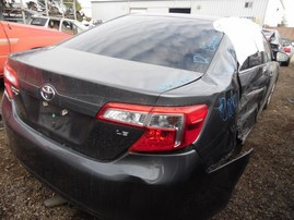2012 TOYOTA CAMRY LE GRAY 2.5L AT Z18009