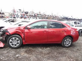 2015 TOYOTA COROLLA L RED 1.8L AT Z18022