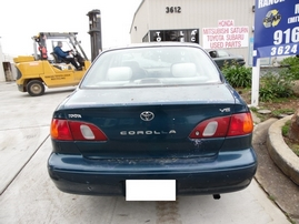 1998 TOYOTA COROLLA VE TEAL 1.8L AT Z17691