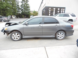 2005 TOYOTA COROLLA S GRAY 1.8L AT Z17693