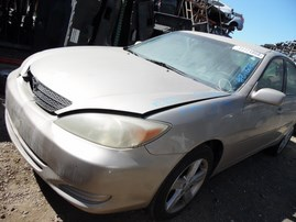 2004 TOYOTA CAMRY LE TAN 2.4L AT Z18216