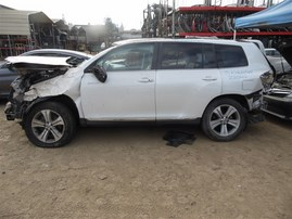 2013 TOYOTA HIGHLANDER LIMITED WHITE 3.5 AT 4WD Z20222