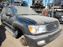 2000 TOYOTA LAND CRUISER BLACK 4.7L AT 4WD Z18221
